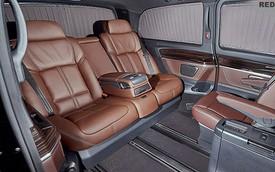 """""""Phẫu thuật"""" Mercedes-Benz Viano với ghế da của BMW 7-Series"""