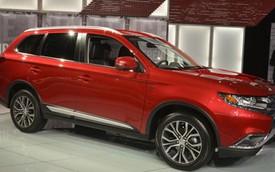 Mitsubishi Outlander 2016 – Xe crossover yên tĩnh hàng đầu thế giới