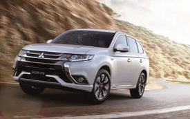 Mitsubishi giới thiệu phiên bản nâng cấp của Outlander tiết kiệm xăng