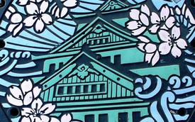 """Lịch sử """"hay ho"""" sau những chiếc nắp cống tuyệt đẹp tại Nhật Bản"""
