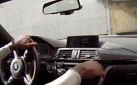 """""""Dùng chùa"""" BMW M4 của khách, nhân viên đỗ xe bị sa thải"""