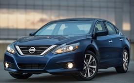 Nissan Altima 2016 có giá khởi điểm từ 22.500 USD