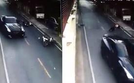 Chủ đại lý ô tô lái Nissan GT-R đâm taxi xe ôm rồi bỏ chạy
