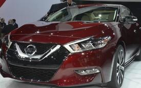 Nissan Maxima 2016: Ngoại thất đột phá, nội thất như xe sang