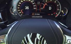 Cận cảnh cụm đồng hồ và vô lăng của BMW 7-Series 2016