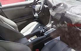 Lần đầu tiên diện kiến nội thất của Honda Civic 2016
