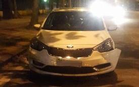 Hà Nội: Kia K3 đâm liên hoàn 1 taxi và 3 xe máy