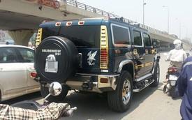 Nóng trong ngày: Hummer H2 mạ vàng trên đường Hà Nội gây xôn xao