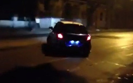 Nóng trong ngày: Suzuki Swift drift trên đường Hà Nội lúc 2h sáng