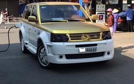 """Nóng trong ngày: Range Rover mạ vàng gắn biển số """"khủng"""" gây xôn xao"""