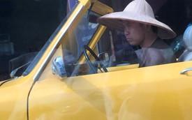 Nóng trong ngày: Xôn xao với hình ảnh người lái Mazda mui trần đội nón lá