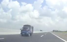 Ô tô tải chạy ngược chiều trên cao tốc 6 làn hiện đại nhất Việt Nam