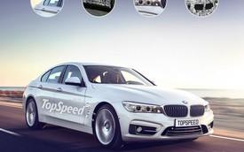 BMW 5-Series 2017 sẽ thừa hưởng phần lớn công nghệ của 7-Series mới