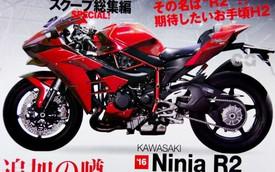 Kawasaki Ninja R2 – Mô tô thể thao dùng động cơ siêu nạp mới