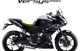 Kawasaki Versys sắp có phiên bản 250 phân khối mới