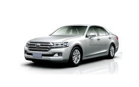 Khi Toyota Crown được thiết kế theo phong cách Land Cruiser