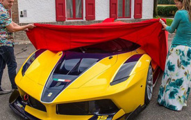 Người chồng của năm: Phó chủ tịch Google mua siêu xe Ferrari tặng vợ