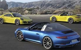 Porsche ra mắt cặp đôi 911 Carrera 4 và Targa 4 nâng cấp