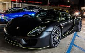 Siêu xe Porsche 918 Spyder màu độc của đại gia