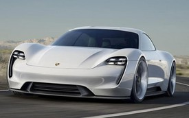 Porsche Mission E Concept ra mắt, Tesla Model S gặp đối thủ