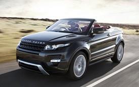 Range Rover Evoque mui trần không hề rẻ