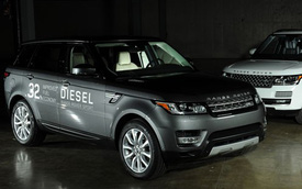 Range Rover Sport 2016 tiết kiệm nhiên liệu có giá 66.450 USD