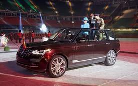 Range Rover mở mui độc nhất vô nhị dành cho Nữ hoàng Anh