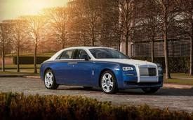 Rolls-Royce Ghost phiên bản chim công tuyệt đẹp