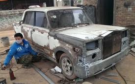 Rolls-Royce Phantom tự chế từ xe Lada cũ của người Việt