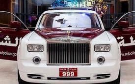 Rolls-Royce Phantom trở thành xe tuần tra cảnh sát