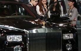 Sợ bị chú ý, nhà giàu Trung Quốc giảm mua xe sang Rolls-Royce
