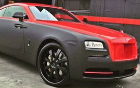 Tình cũ của Rihanna độ Rolls-Royce Wraith theo phong cách phá xe