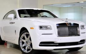 Võ sỹ triệu phú mua Rolls-Royce Wraith cho con gái 14 tuổi