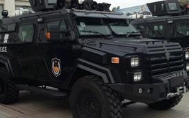 """Sabertooth – Xế """"khủng"""" mới của cảnh sát Trung Quốc"""