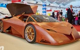 Ngỡ ngàng với siêu xe bằng gỗ có công suất 600 mã lực