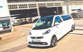 Smart ForTwo Limousine: Dài 5,5 mét, chở được 6 người