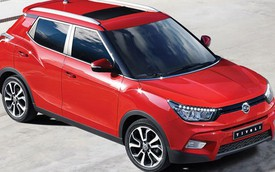 Xe bán chạy Ssangyong Tivoli có thêm phiên bản tiết kiệm nhiên liệu
