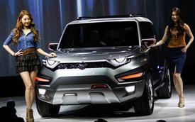SsangYong XAV Concept - Xe SUV ''tân cổ giao duyên''