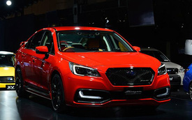 """Dàn xe Subaru thể thao hơn """"hâm nóng"""" triển lãm Tokyo 2015"""
