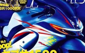 """""""Thần gió"""" Suzuki Hayabusa sẽ có phiên bản 1.500 phân khối mới"""
