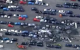 Chuyên cơ của gia đình Bin Laden đâm vào bãi xe đấu giá, 4 người tử vong