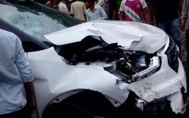 2 chiếc SUV giá rẻ Hyundai Creta gặp nạn sau 3 ngày ra mắt