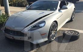 Rapper T-Pain lái Aston Martin vượt đèn đỏ, gây tai nạn liên hoàn