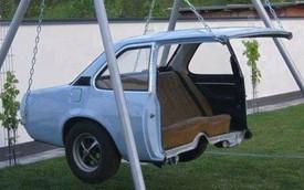 Những ý tưởng tận dụng ô tô cũ cực sáng tạo