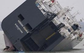 1.200 xe Jaguar và Land Rover trên tàu mắc cạn có thể bị tiêu hủy
