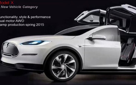 Tesla Model X sẽ là xe SUV nhanh nhất thế giới