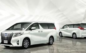 Xe minivan hạng sang Toyota Alphard thế hệ mới trình làng