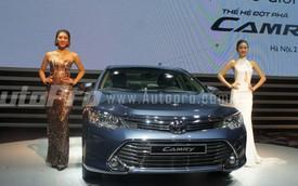 Chính thức ra mắt Toyota Camry 2015, giá từ 1,078 tỷ Đồng