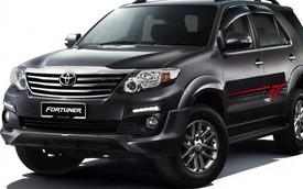 Toyota Fortuner 2015: Nâng cấp nhẹ nhàng