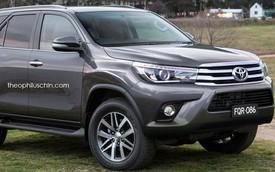 Khi Toyota Fortuner và Hilux thế hệ mới tráo đổi đầu xe cho nhau
